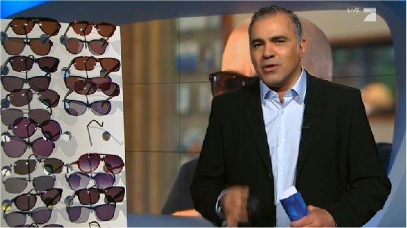 Galileo (Pro7) testet Sonnenbrillen: Billig- gegen Luxusmodelle
